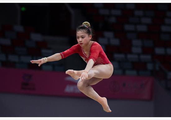 国家体操女队人才厚度增强 新人仍需磨练
