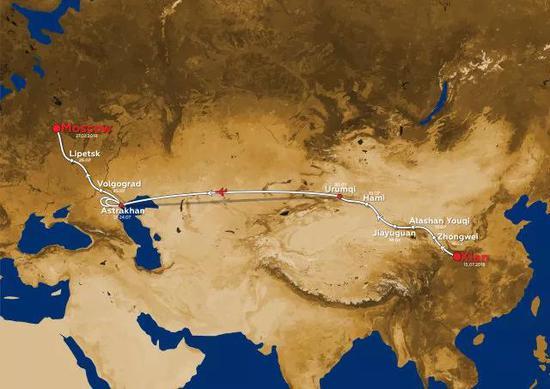 2018丝绸之路拉力赛路线正式公布 从西安发车