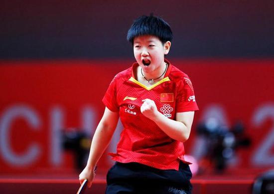女子世界杯23届国乒22次夺冠 陈梦成梦之队第十人