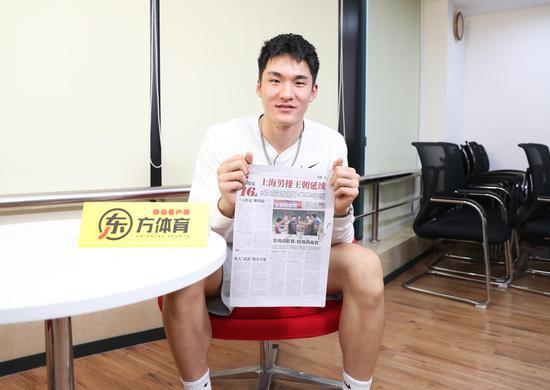 上海男排联赛卫冕秘密武器 沈琼看其比赛视频着迷