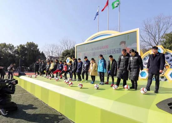 """""""吾为亚运赋能""""亚运足球梦想公好活动正式启动"""