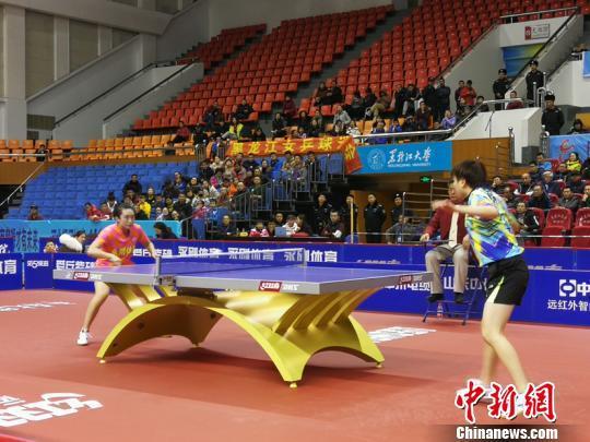 2018-2019 China Tennis Tennis Super League, Heilongjiang Zhongzhou Yonggang six play a loss streak.