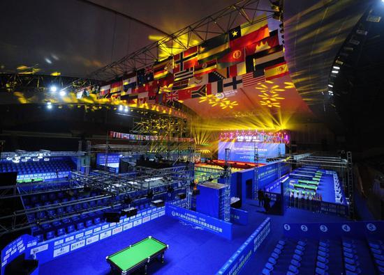 中式台球国际大师赛 奖金最高连续4年全球第一