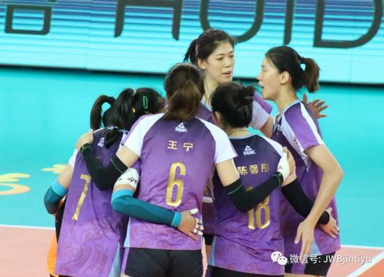 全国女排锦标赛3比0轻取福建 天津队提前晋级八强