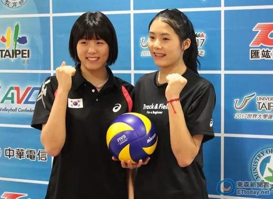 排坛姐妹花波塞蒂姐俩最具实力 韩国姐妹最美颜