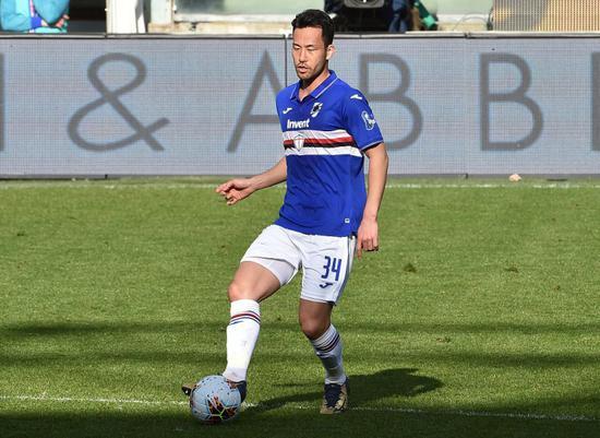 吉田麻也成为桑普队史首位意甲进球的亚洲球员
