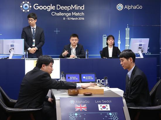 李世石與AlphaGo的人機大戰第四局