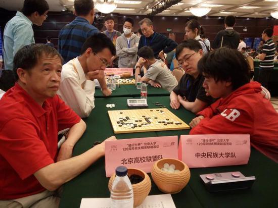 队际赛:北京高校联盟队胜中央民族大学队