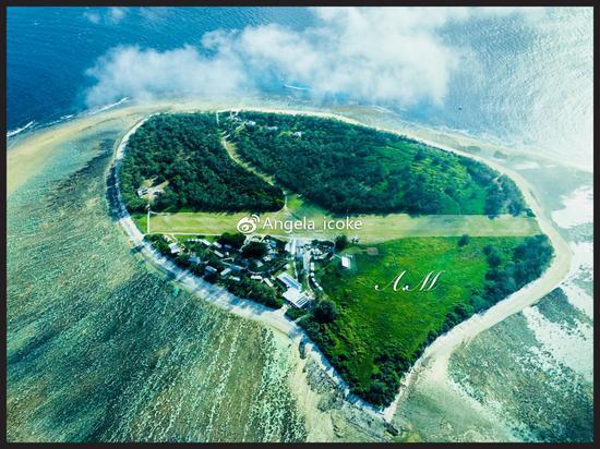 俯瞰伊利特女士岛