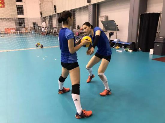 中国女排两大任务亚运会+世锦赛 朱婷训练成范本