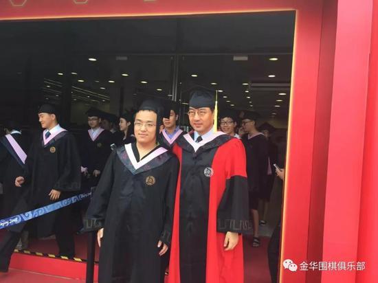 2015年,陶汉文北大毕业。
