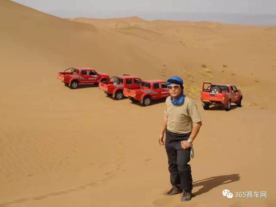 2004年首次来摩洛哥的周勇