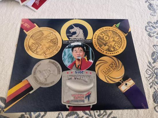 6大满贯证书及纪念图
