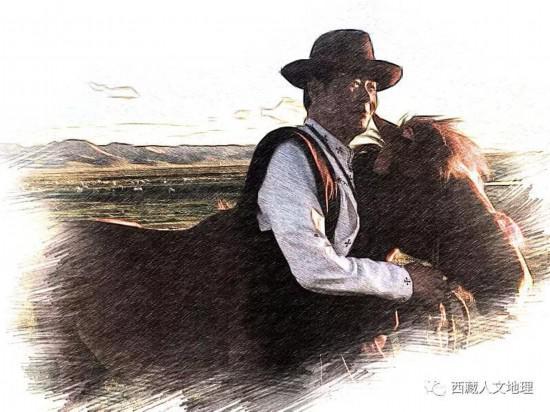 吴雨初曾经希望有一匹属于自己的马。图|作者供图