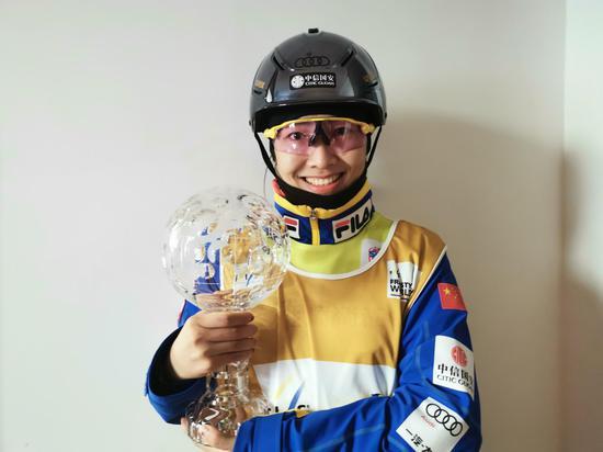 參加過三屆冬奧會的老將徐夢桃依舊是隊中的定海神針。