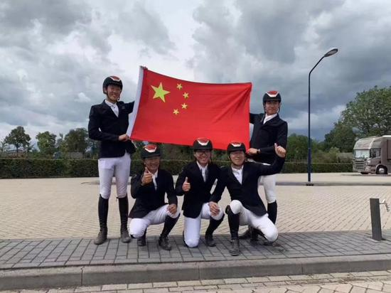 【贺信】祝贺中国马术队获得东京奥运会场地障碍团体赛参赛资格