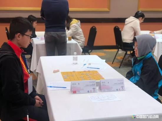 男子U12组中国小将刘通发挥出色