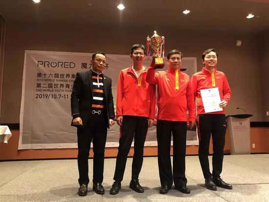 中国夺男子团体冠军