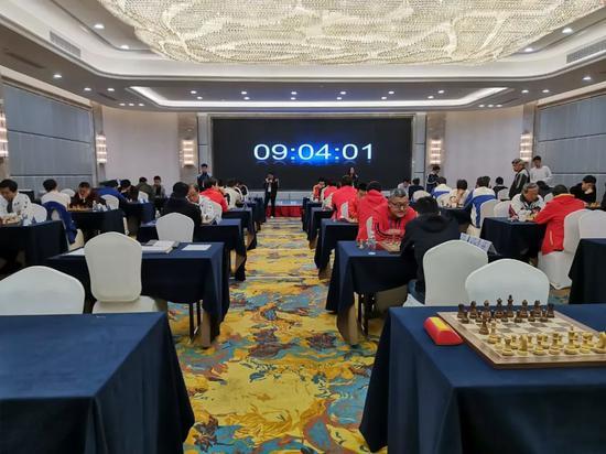 四智会国际象棋男子团体快棋赛 江苏上海角逐冠军