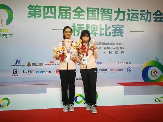 智运会第一枚奖牌来啦 两桥牌少女为广东队添彩