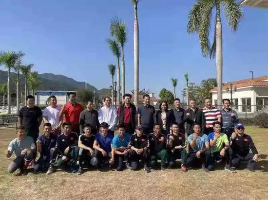 中国国家马术队在广东惠州冬训备战东京奥运会