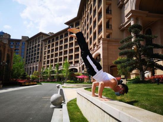 《【煜星网上平台】援鄂医师亦是健身达人 朱迪:运动是最好的陪伴》