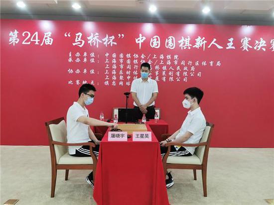 中国围棋新人王决赛 屠晓宇险胜王星昊夺得冠军