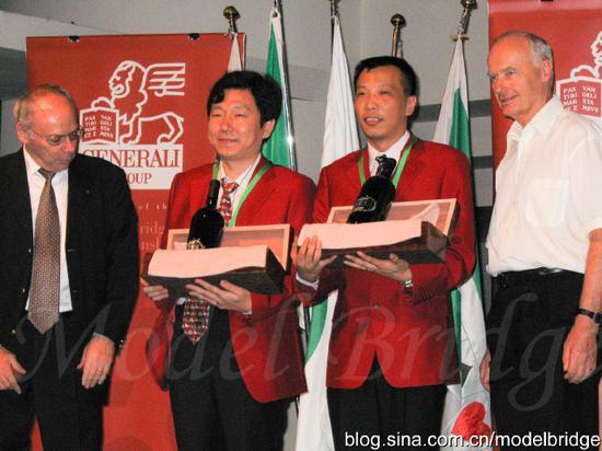 风华正茂的四十年 中国桥牌世界冠军名录