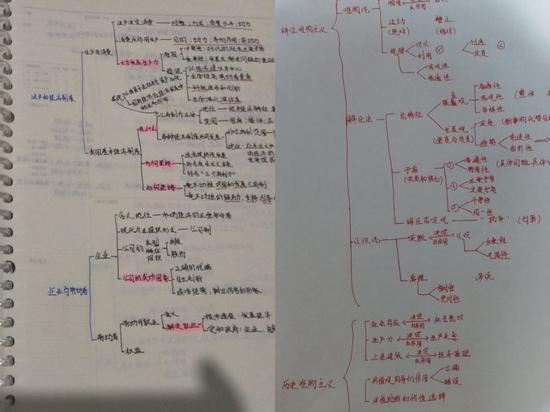 这是吴梓岳的政治高考笔记