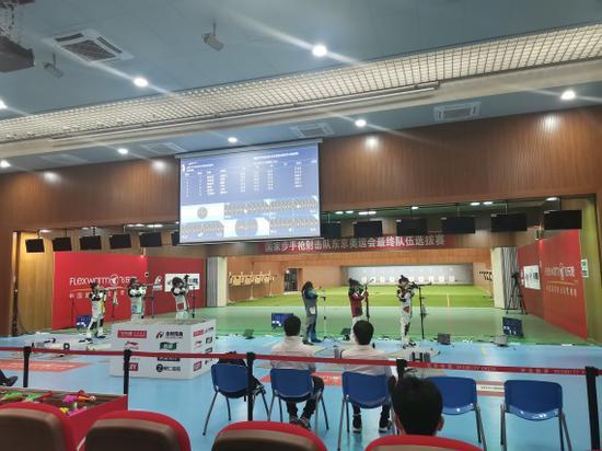 选拔赛胜出 史梦瑶陈东琦入选国家射击队奥运阵容