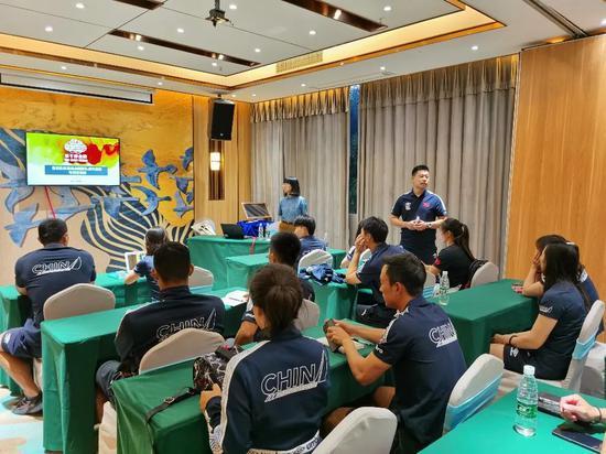 帆船帆板队组织备战东京奥运会反兴奋剂专题讲座