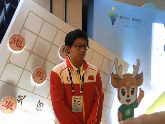 四智会象棋少年男子冠军山东王禹博
