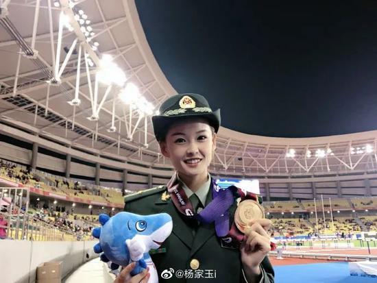 网友说,她是全世界颜值最高的竞走运动员