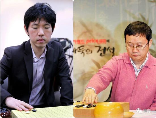 李昌镐与刘昌赫