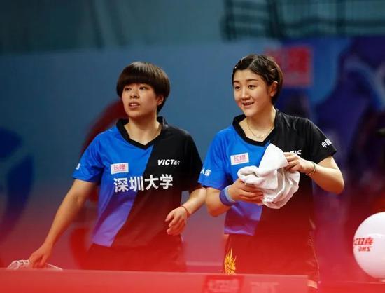 乒超第八轮深圳鲁能强强对话 提前到来的决赛