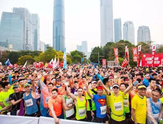 中国马拉松赛事的成长空间还很大