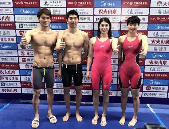 游泳冠军赛综述:喜迎世界纪录 直面体测争议