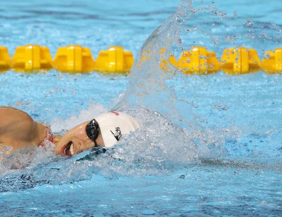 中国游泳争霸赛收官 李冰洁强势回归引人关注