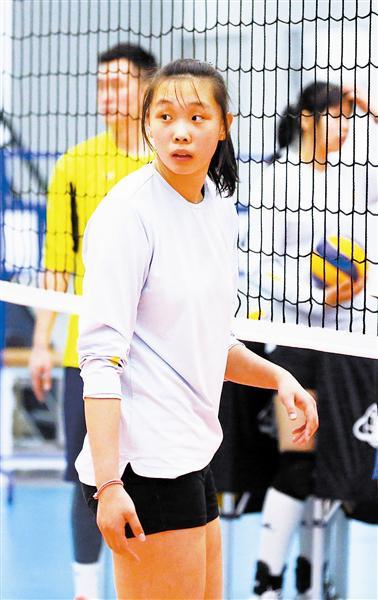 针对性备战全运会预赛 天津青年女排阵容微调