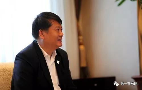 ▲内蒙古莱德马业集团董事长兼总裁郎林