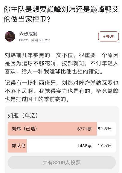 传奇控卫刘炜,为什么他才是中国第一控卫?
