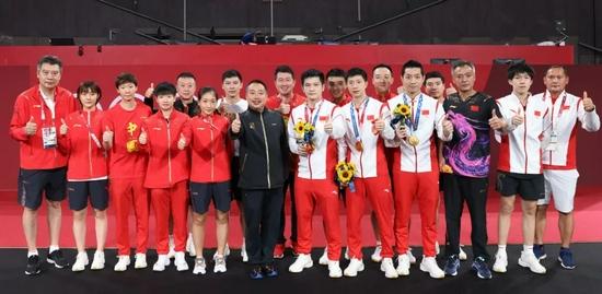 刘国梁:捍卫的不仅仅是金牌 更是这支球队的队魂