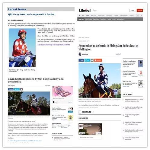 澳洲媒体高度聚焦覃勇的出色表现