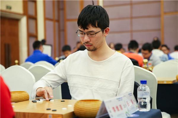 张涛在比赛中