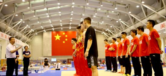 零失误!中国体操男队备战东京奥运会状态渐佳