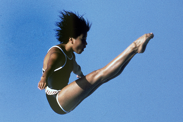 1984年洛杉矶奥运会,周继红成为我国跳水历史上第一个奥运冠军。