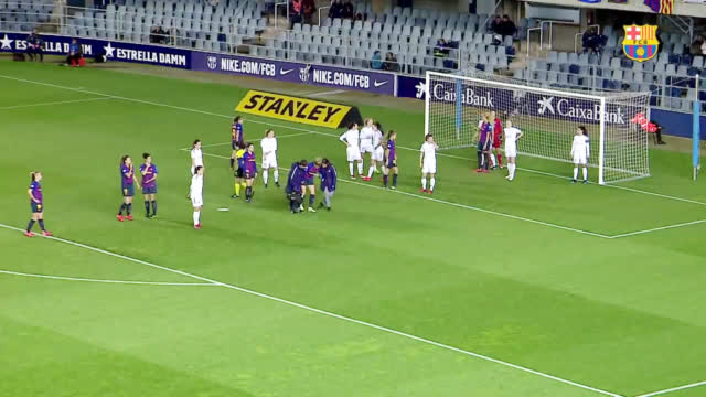 视频-女足欧冠1/4决赛率先开战 巴萨女足首回合3-0完胜