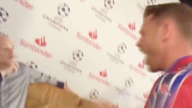 视频-梅西进球西班牙六台嘉宾反应 巴萨球迷挑衅皇马球迷