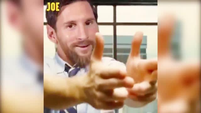 视频-JOE恶搞梅西梅开二度 最后德赫亚那一下笑喷