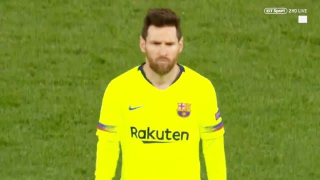 视频-终场哨响利物浦球员疯狂庆祝 梅西落寂摇头
